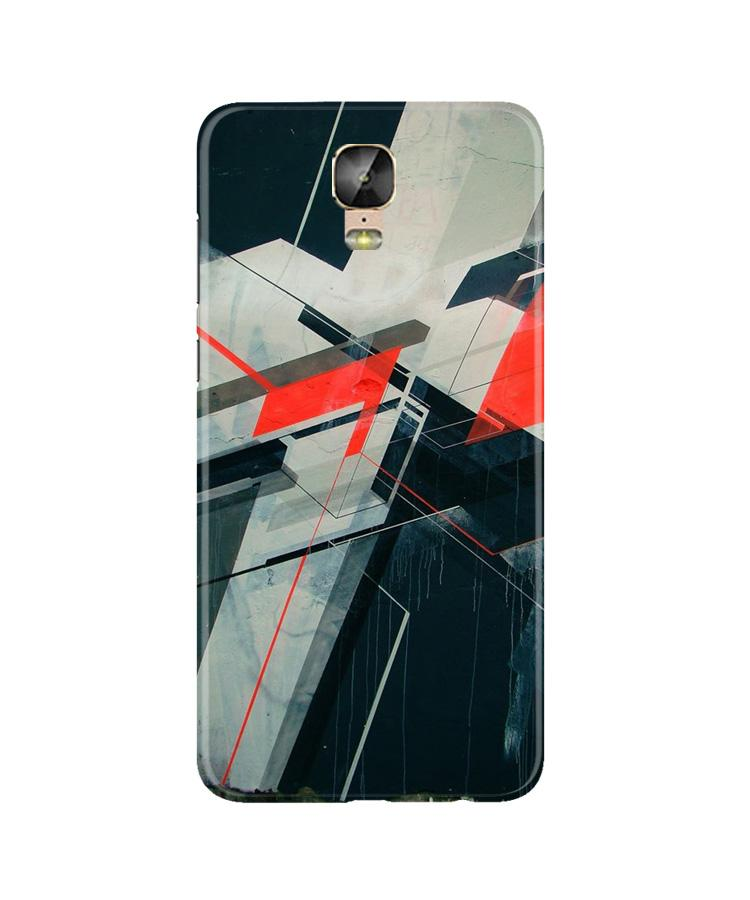 Modern Art Case for Gionee M5 Plus (Design No. 231)