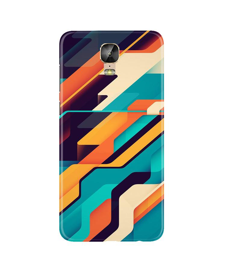 Modern Art Case for Gionee M5 Plus (Design No. 233)