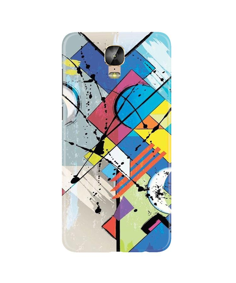 Modern Art Case for Gionee M5 Plus (Design No. 235)