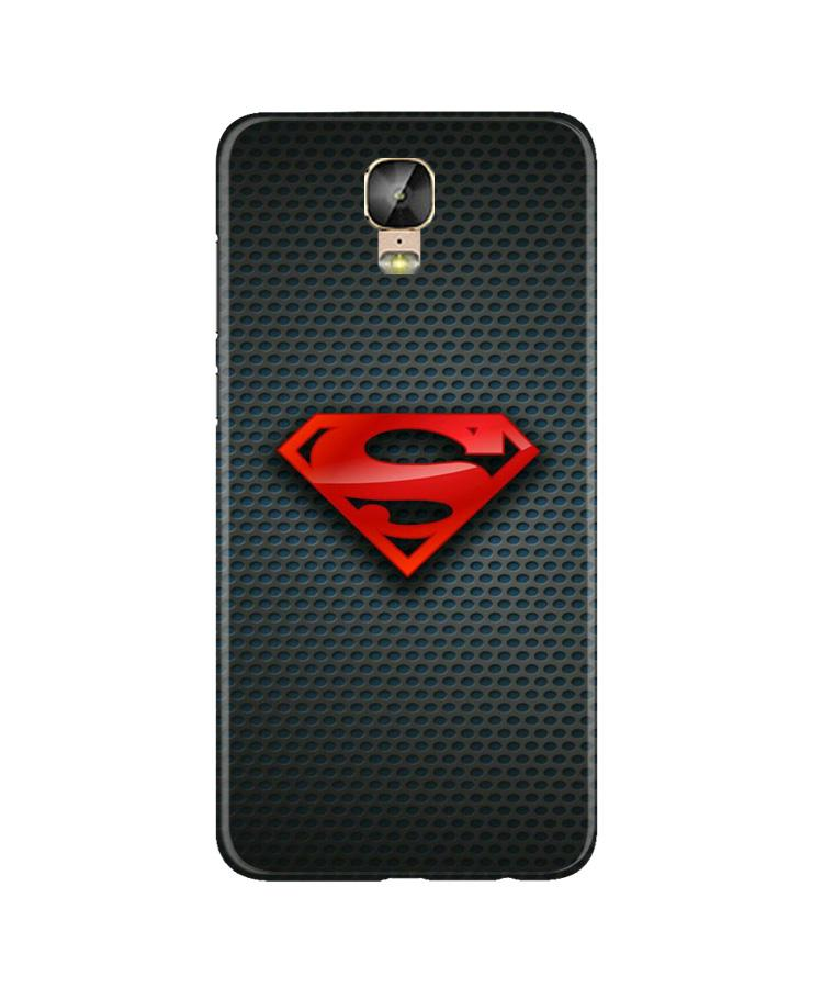 Superman Case for Gionee M5 Plus (Design No. 247)