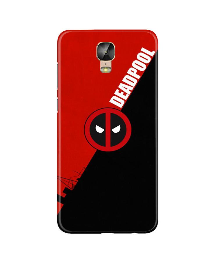 Deadpool Case for Gionee M5 Plus (Design No. 248)