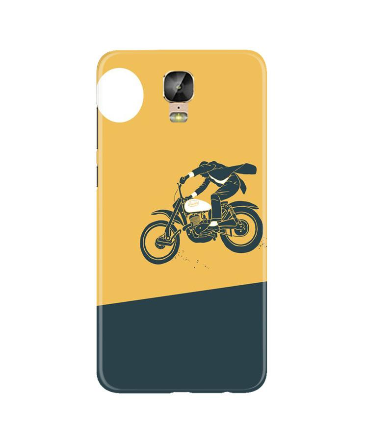 Bike Lovers Case for Gionee M5 Plus (Design No. 256)