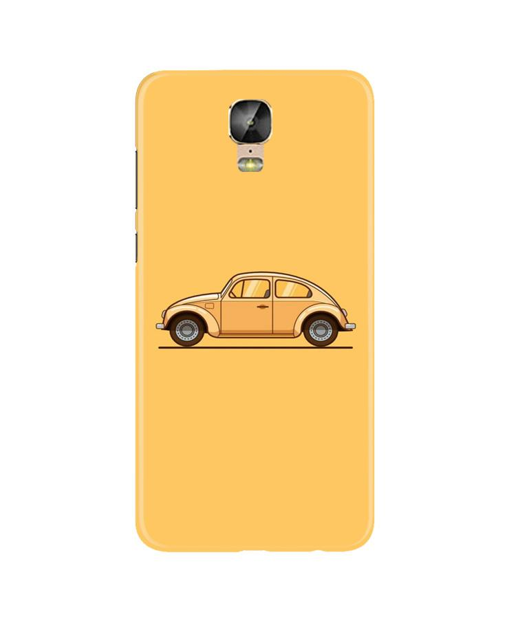 Vintage Car Case for Gionee M5 Plus (Design No. 262)