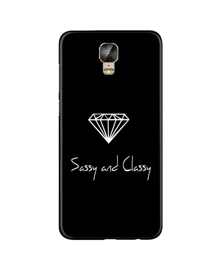 Sassy and Classy Case for Gionee M5 Plus (Design No. 264)