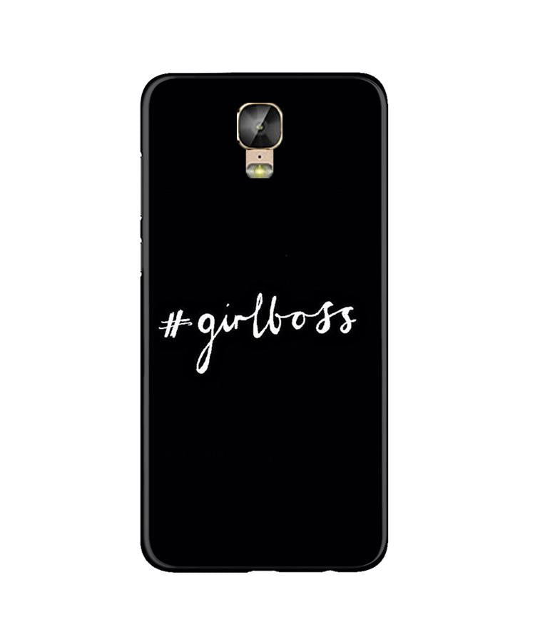 #GirlBoss Case for Gionee M5 Plus (Design No. 266)