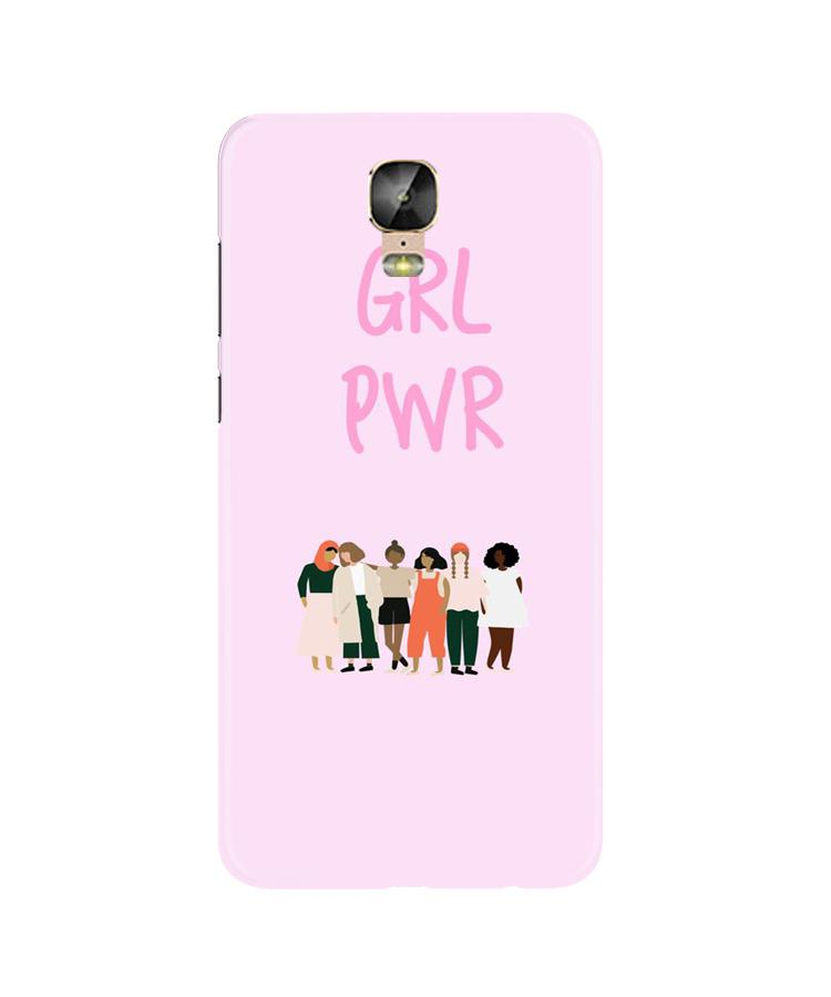 Girl Power Case for Gionee M5 Plus (Design No. 267)