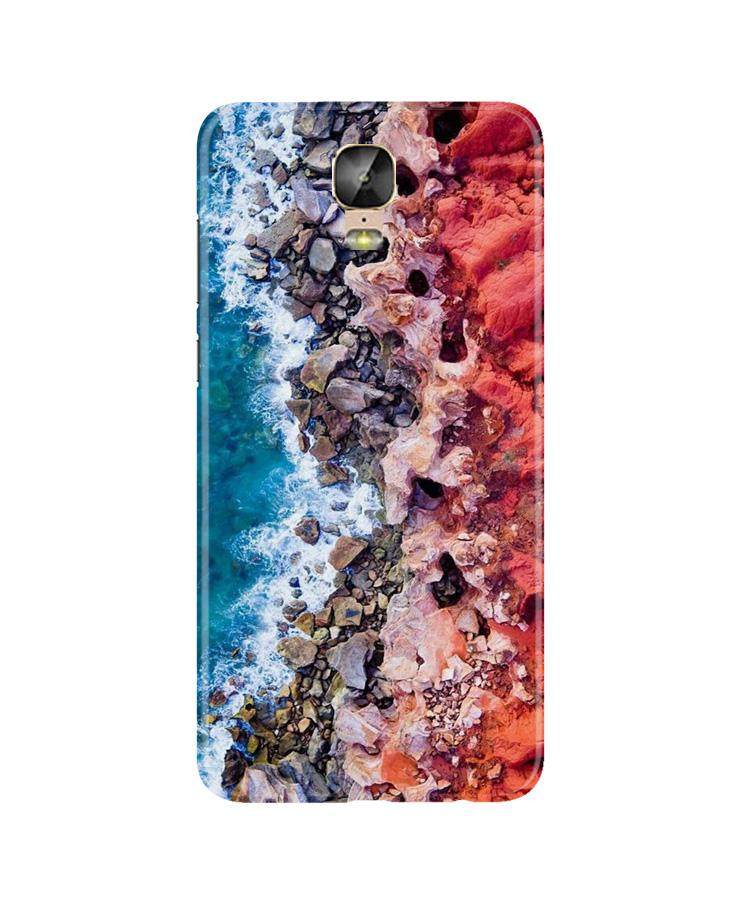 Sea Shore Case for Gionee M5 Plus (Design No. 273)