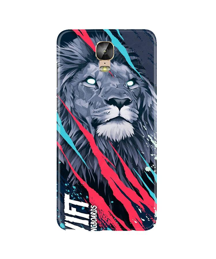 Lion Case for Gionee M5 Plus (Design No. 278)