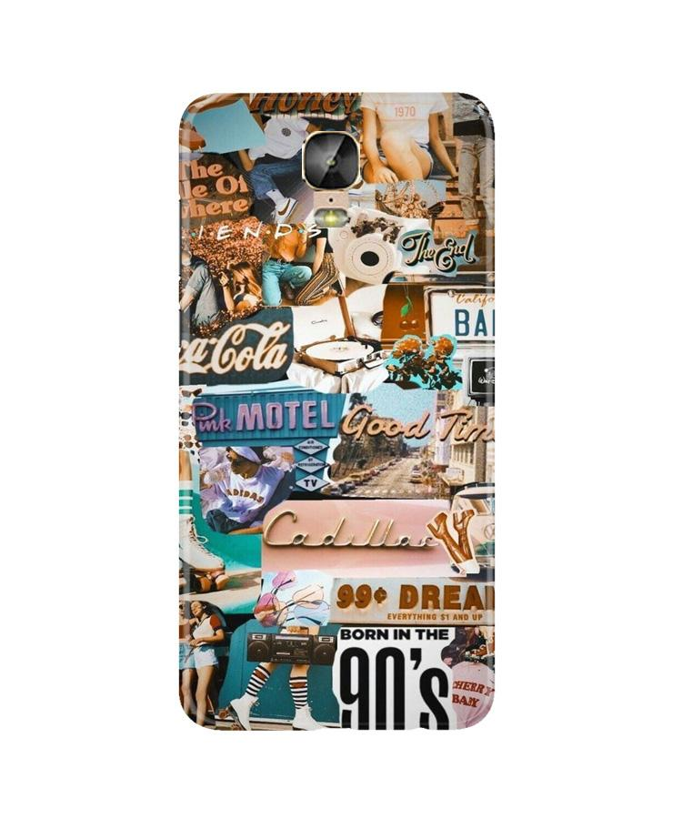 Vintage Design Case for Gionee M5 Plus (Design No. 284)