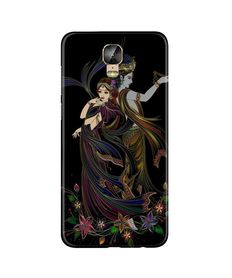 Radha Krishna Case for Gionee M5 Plus (Design No. 290)