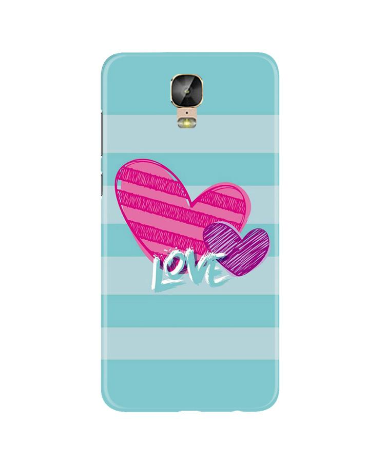 Love Case for Gionee M5 Plus (Design No. 299)