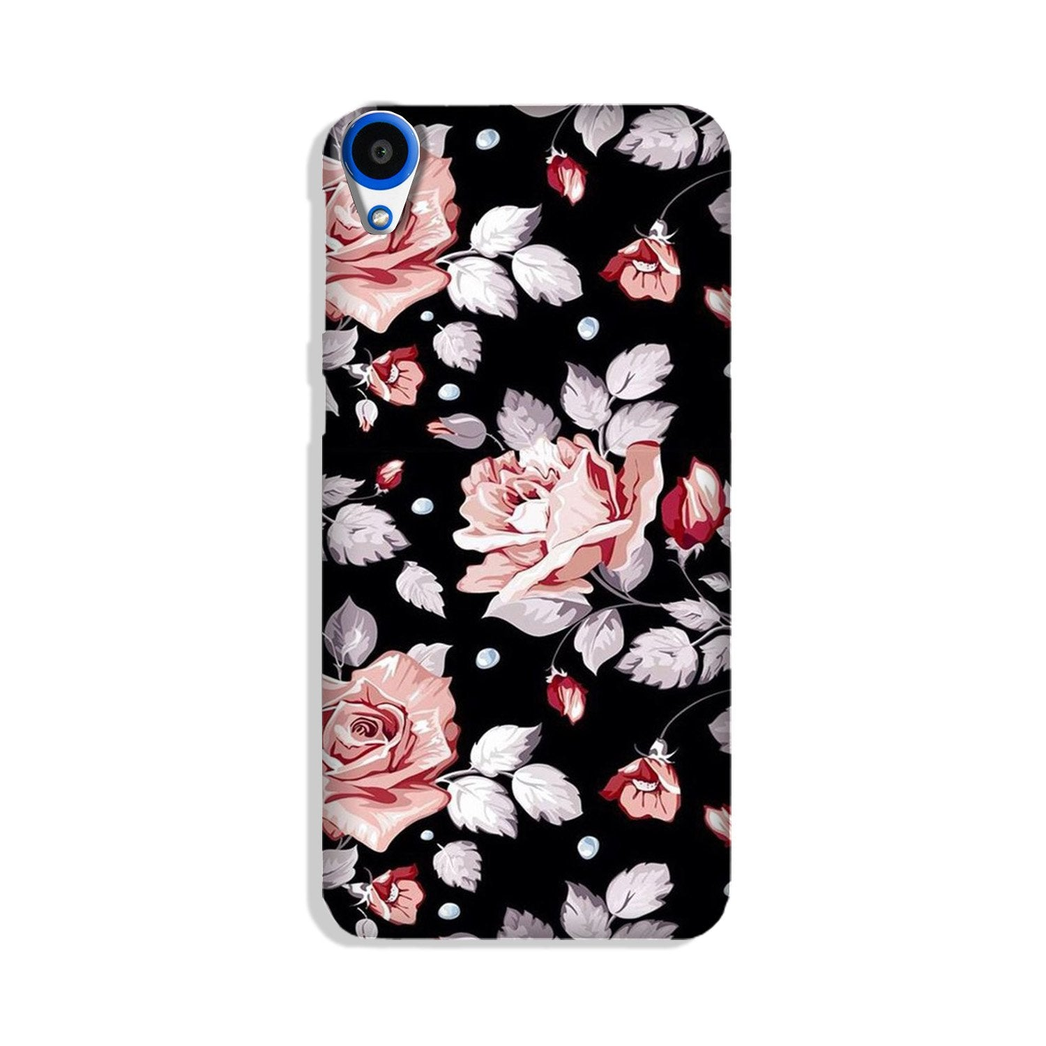 Pink rose Case for HTC Desire 820