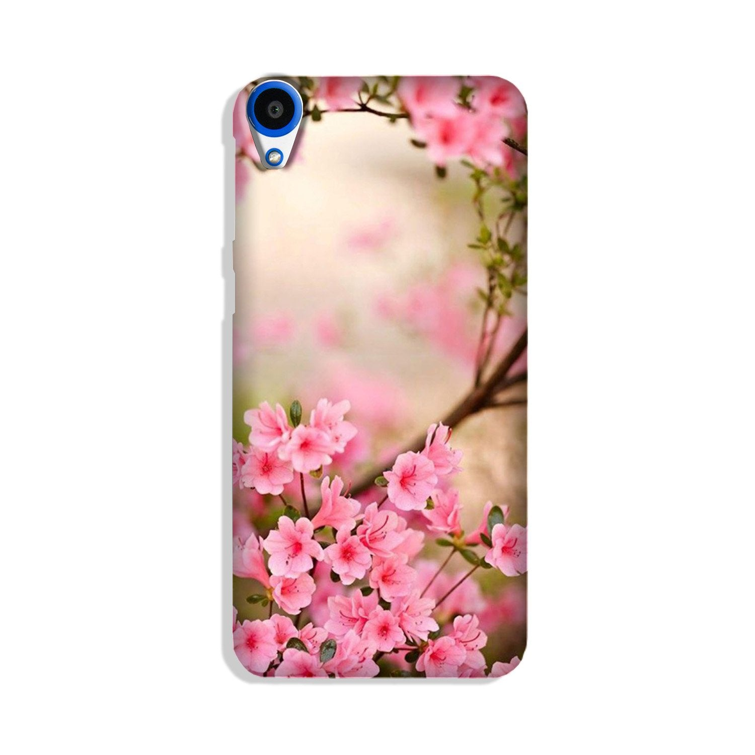 Pink flowers Case for HTC Desire 820