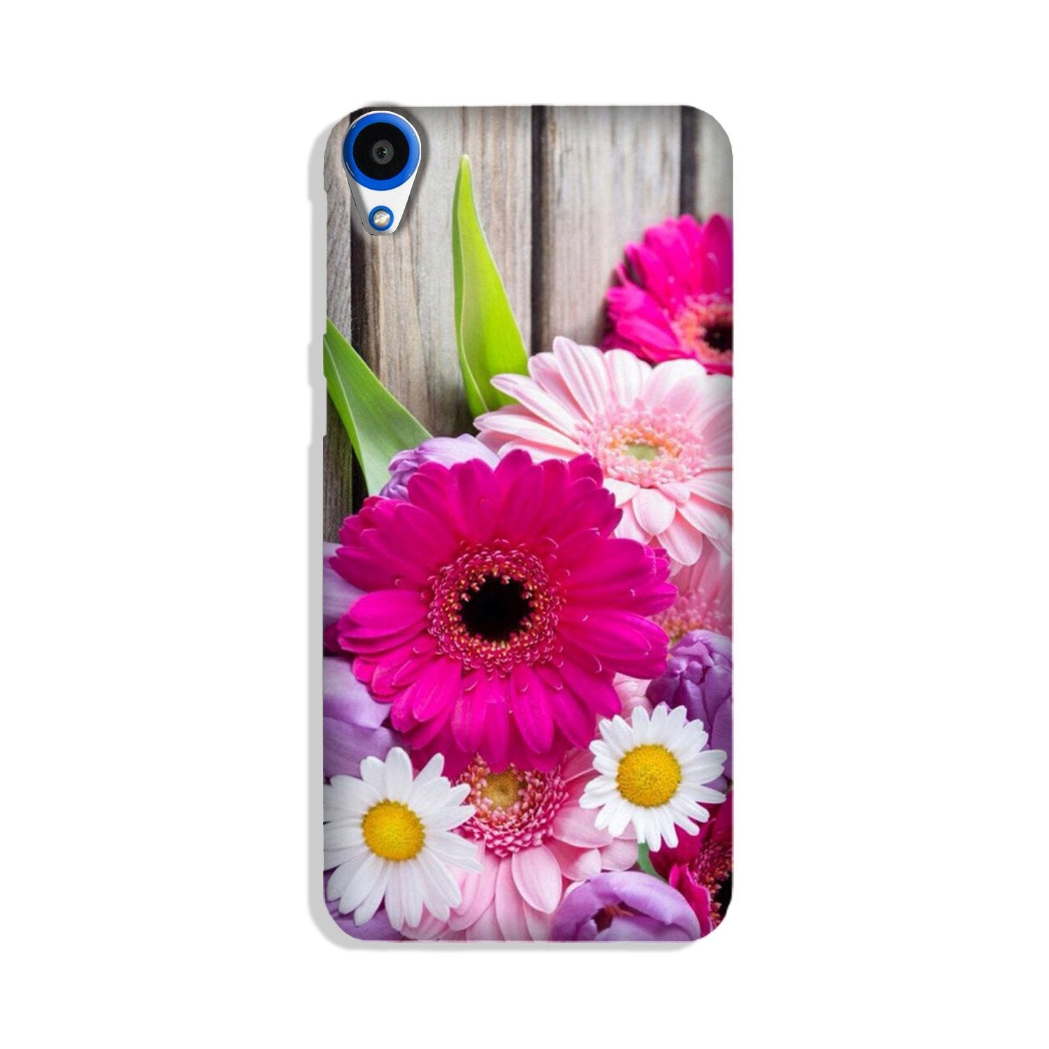 Coloful Daisy Case for HTC Desire 820