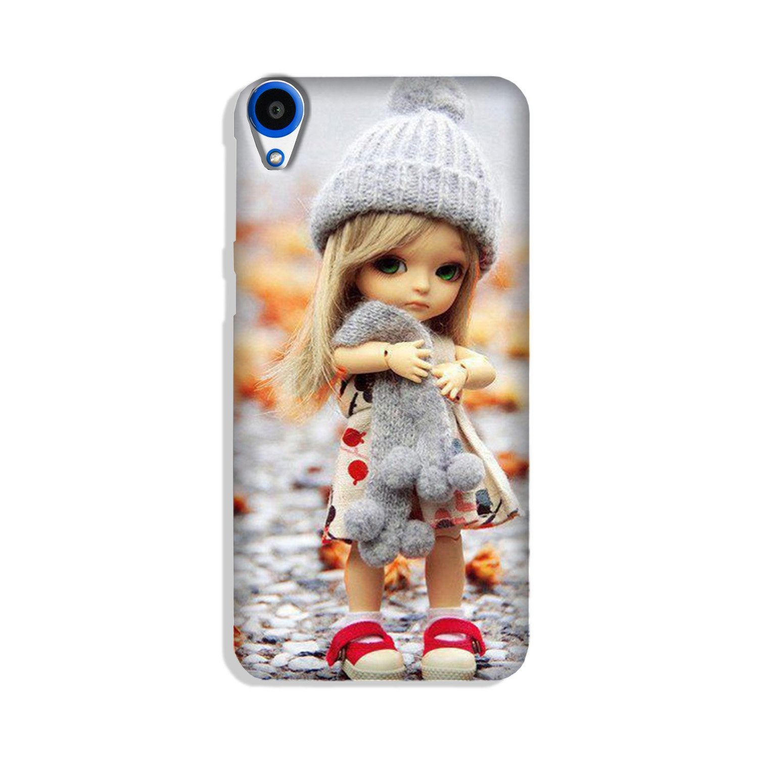 Cute Doll Case for HTC Desire 820