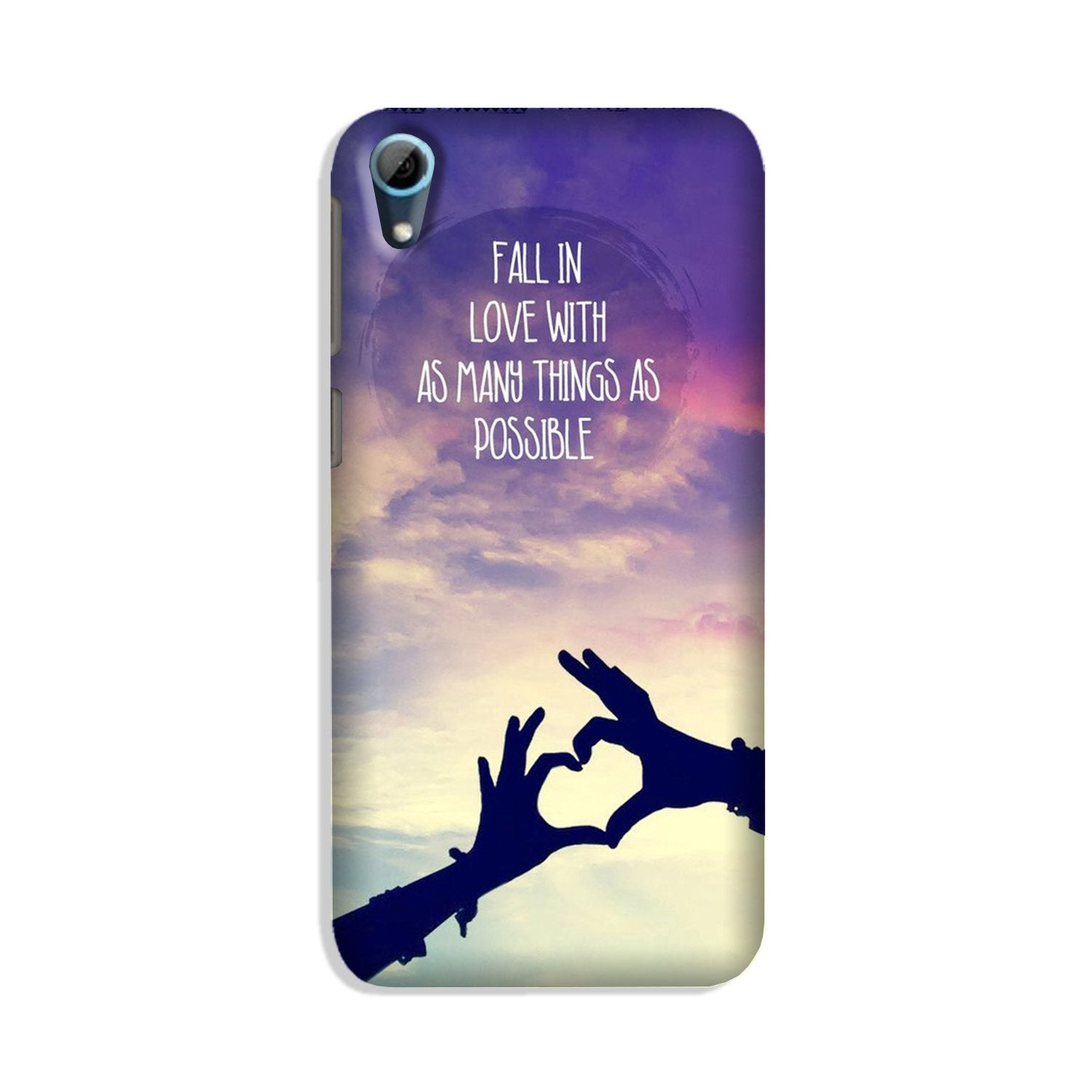 Fall in love Case for HTC Desire 826