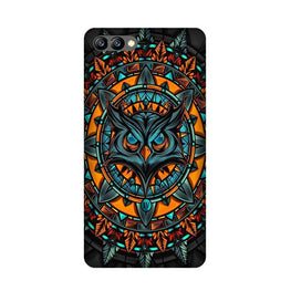 Owl Mobile Back Case for Honor 10 (Design - 360)