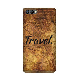 Travel Mobile Back Case for Honor 10 (Design - 375)