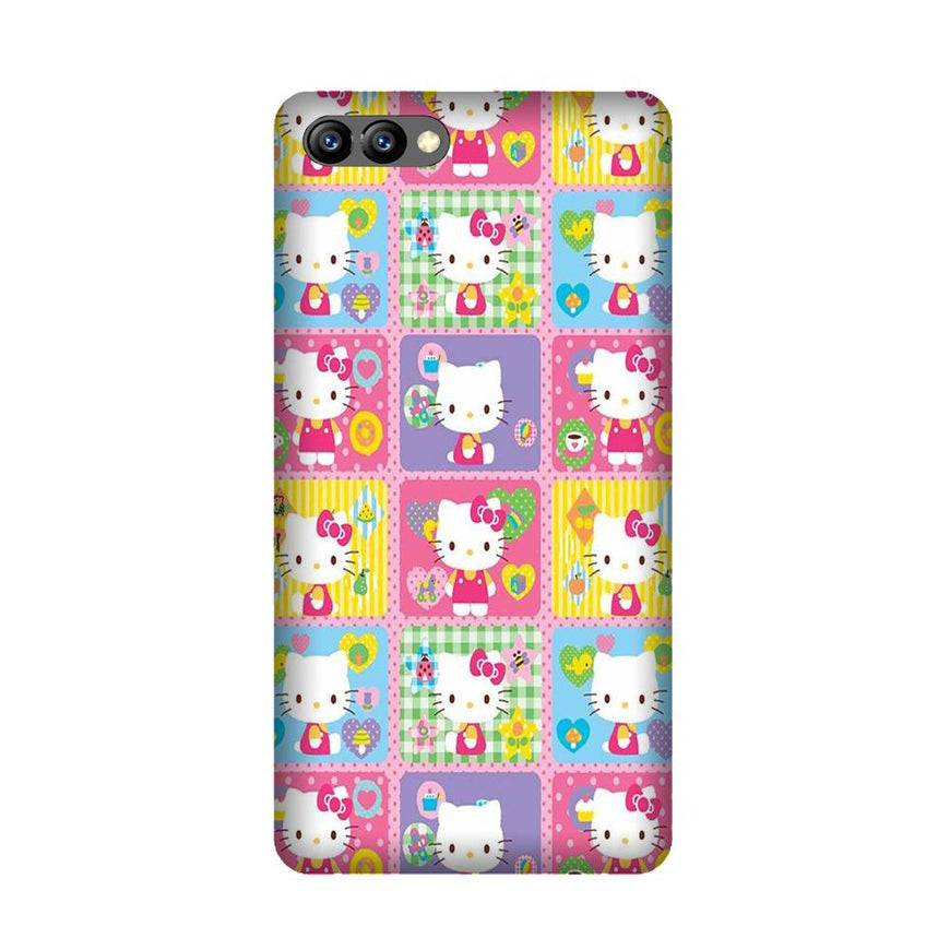 Kitty Mobile Back Case for Honor 10 (Design - 400)