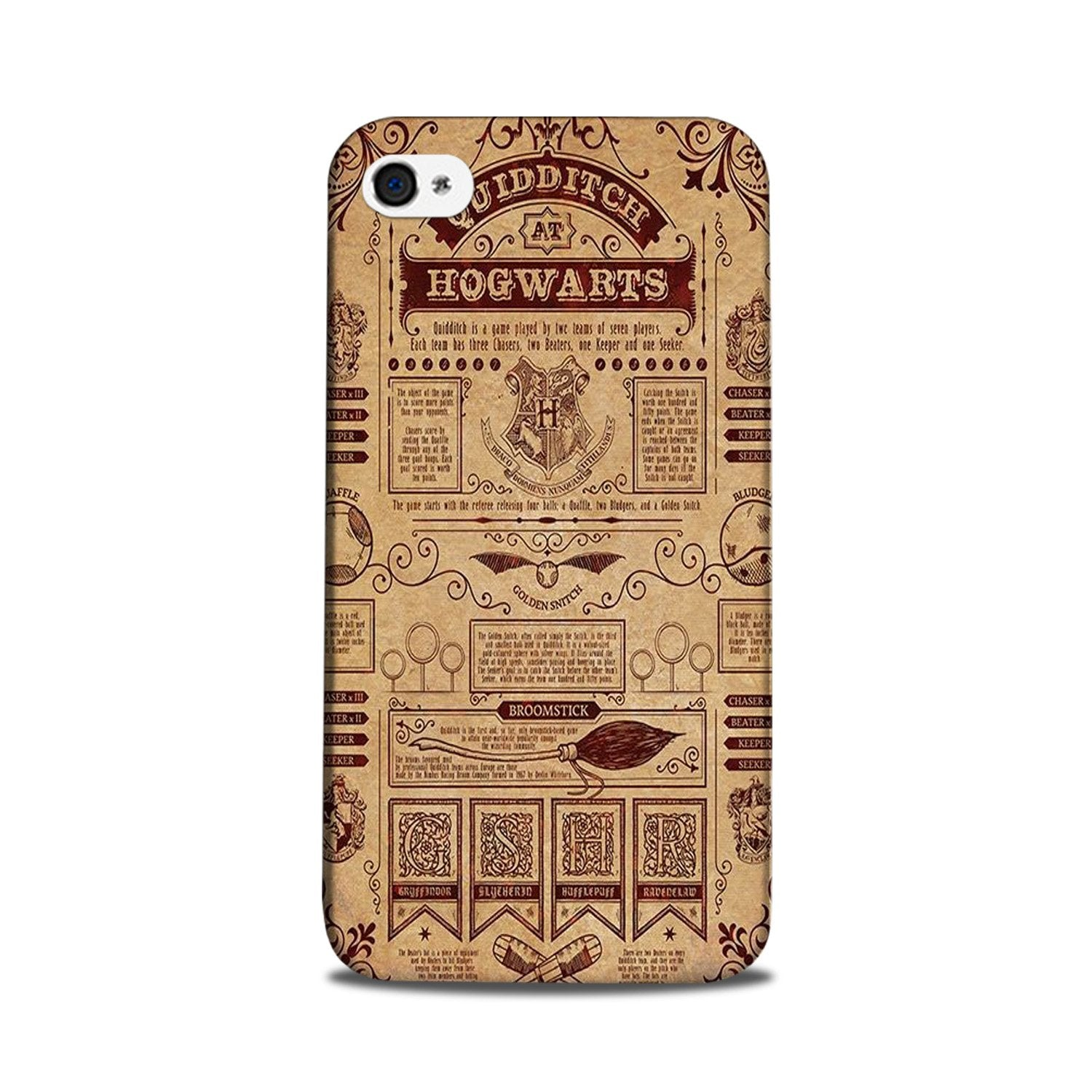 Hogwarts Mobile Back Case for iPhone 5/ 5s  (Design - 304)