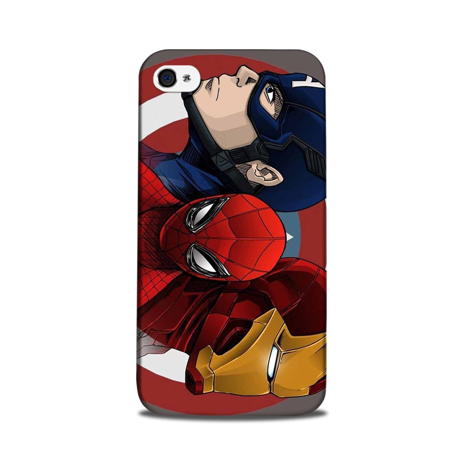 Superhero Mobile Back Case for iPhone 5/ 5s  (Design - 311)
