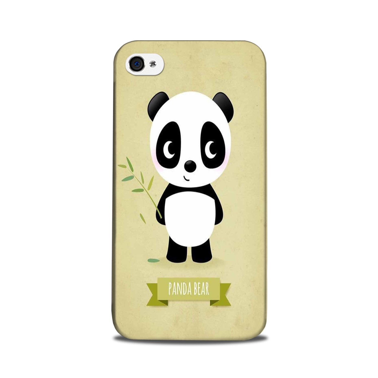 Panda Bear Mobile Back Case for iPhone 5/ 5s  (Design - 317)