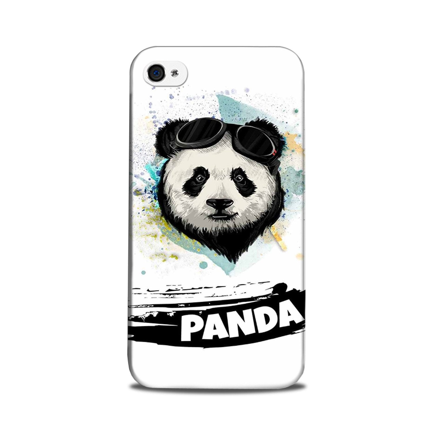 Panda Mobile Back Case for iPhone 5/ 5s  (Design - 319)