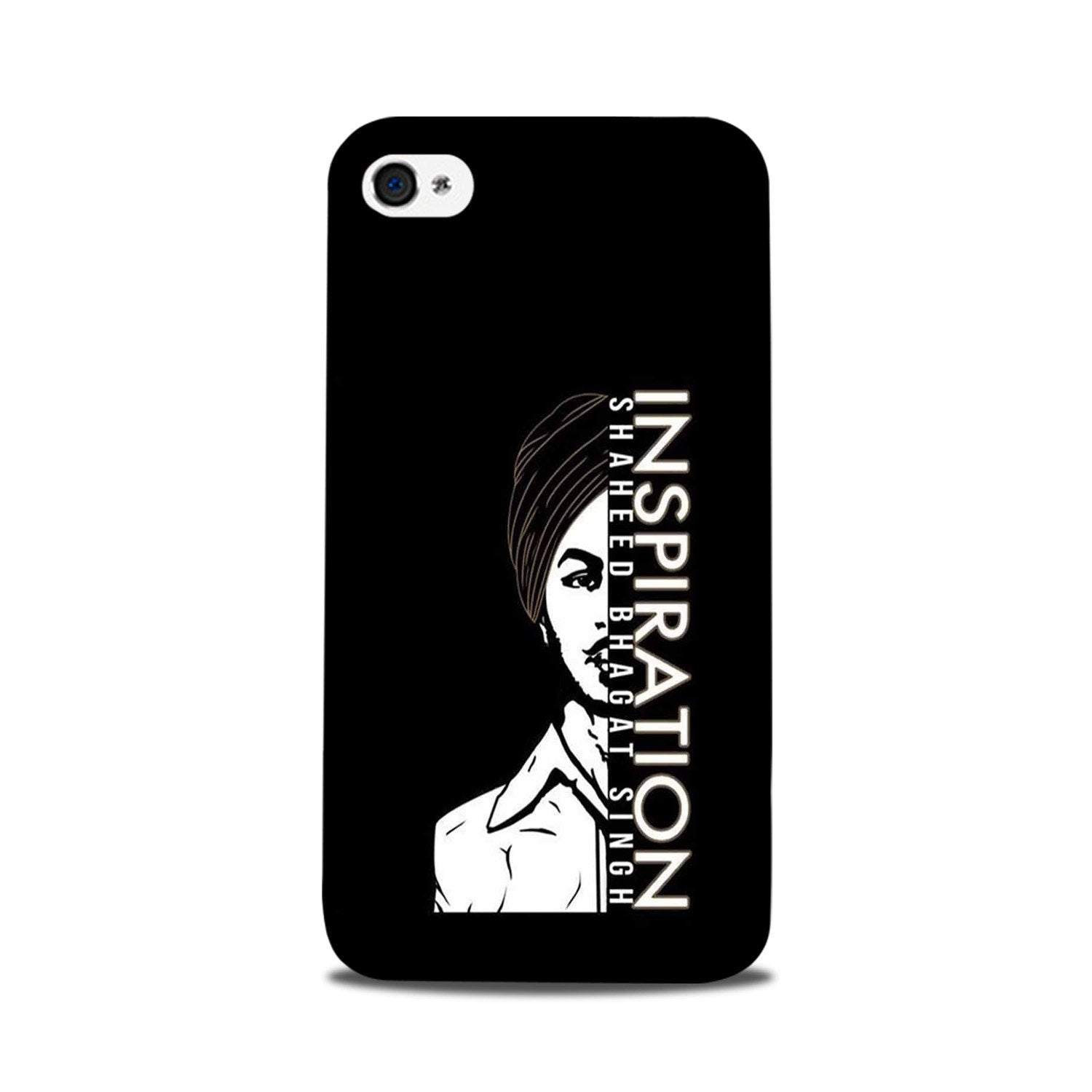 Bhagat Singh Mobile Back Case for iPhone 5/ 5s  (Design - 329)