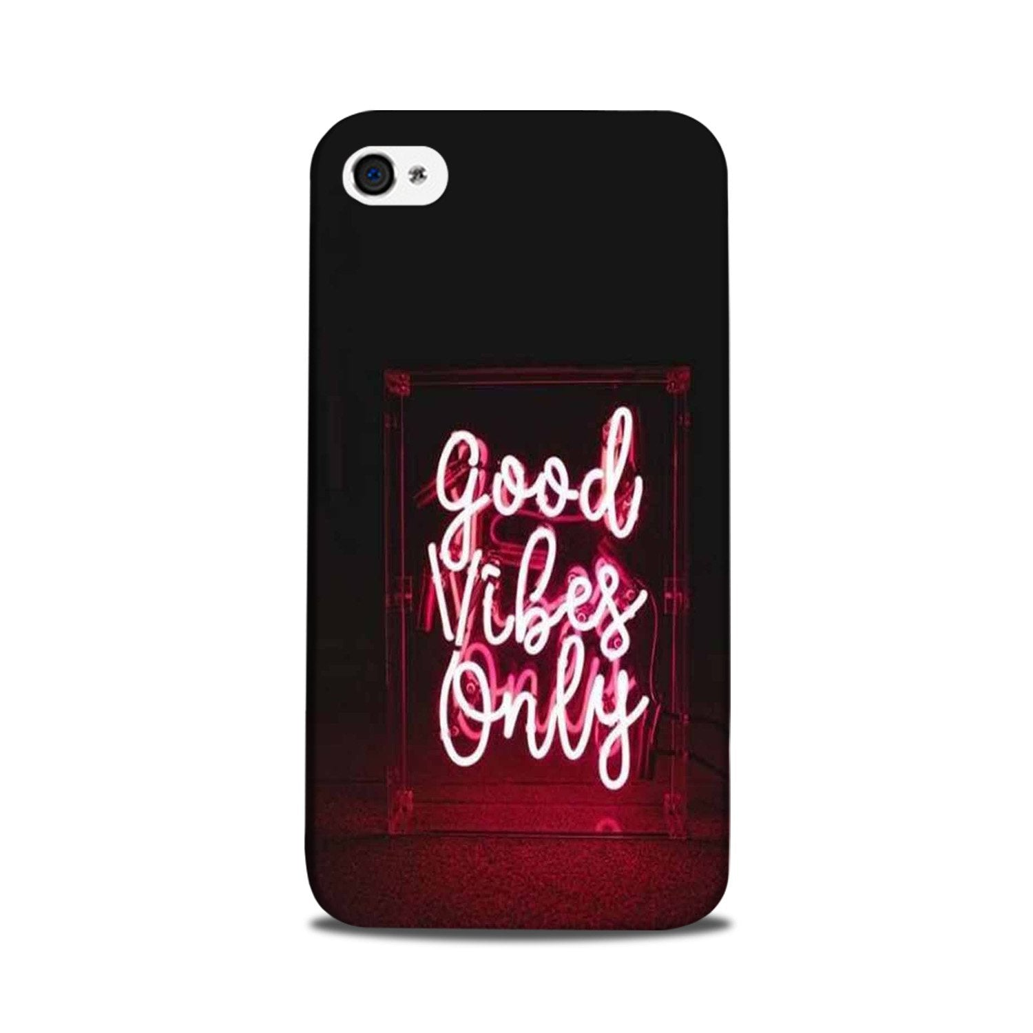 Good Vibes Only Mobile Back Case for iPhone 5/ 5s  (Design - 354)