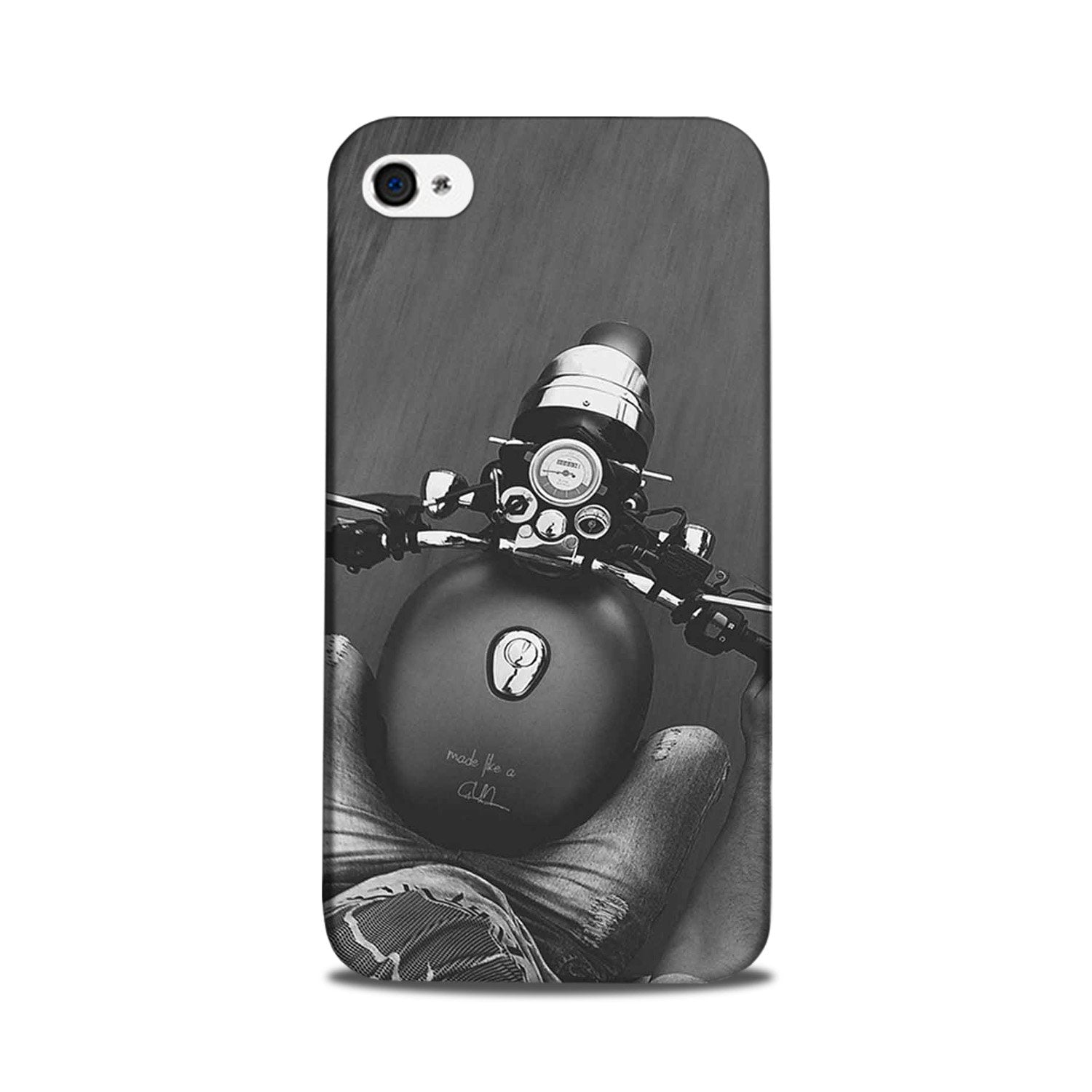 Royal Enfield Mobile Back Case for iPhone 5/ 5s  (Design - 382)