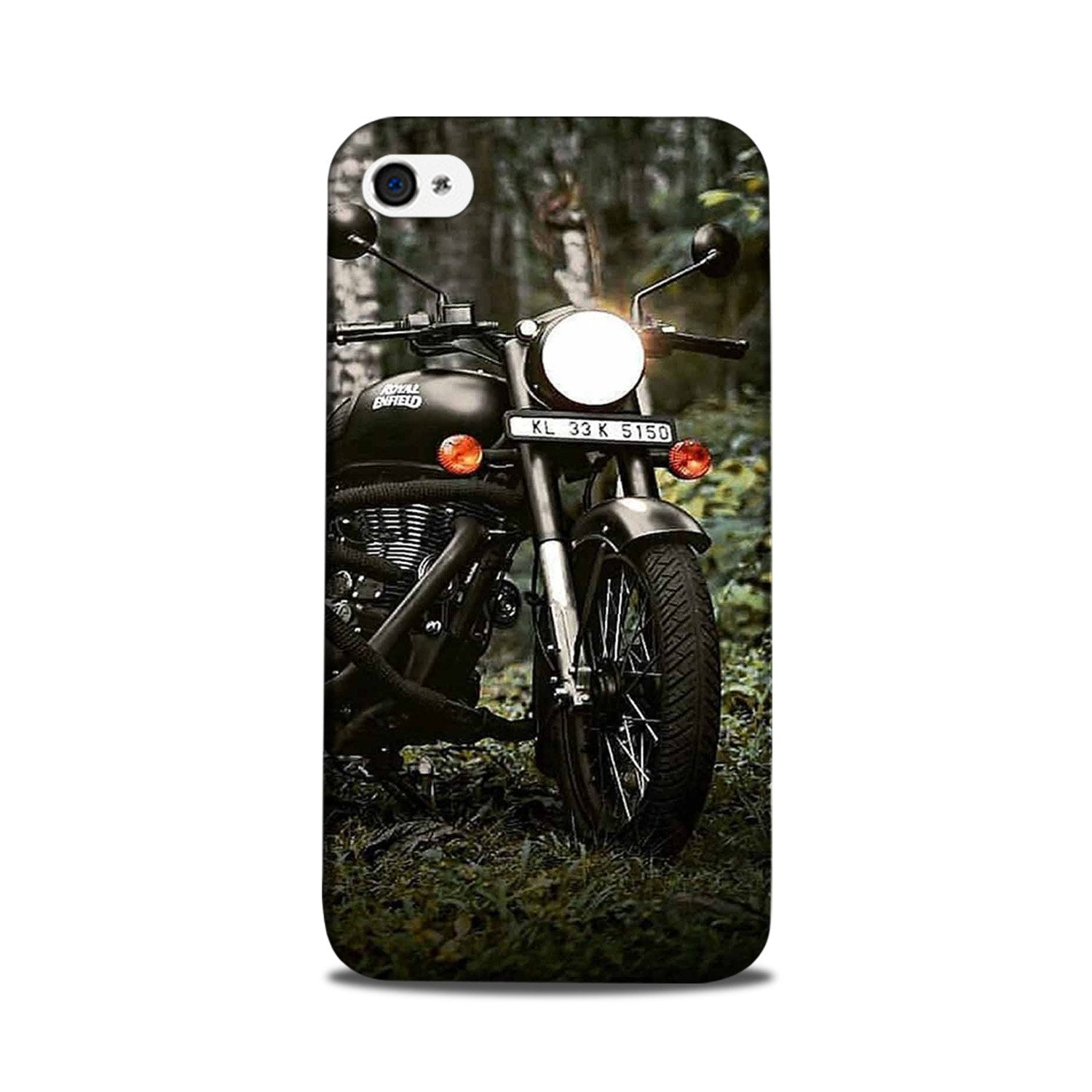 Royal Enfield Mobile Back Case for iPhone 5/ 5s  (Design - 384)