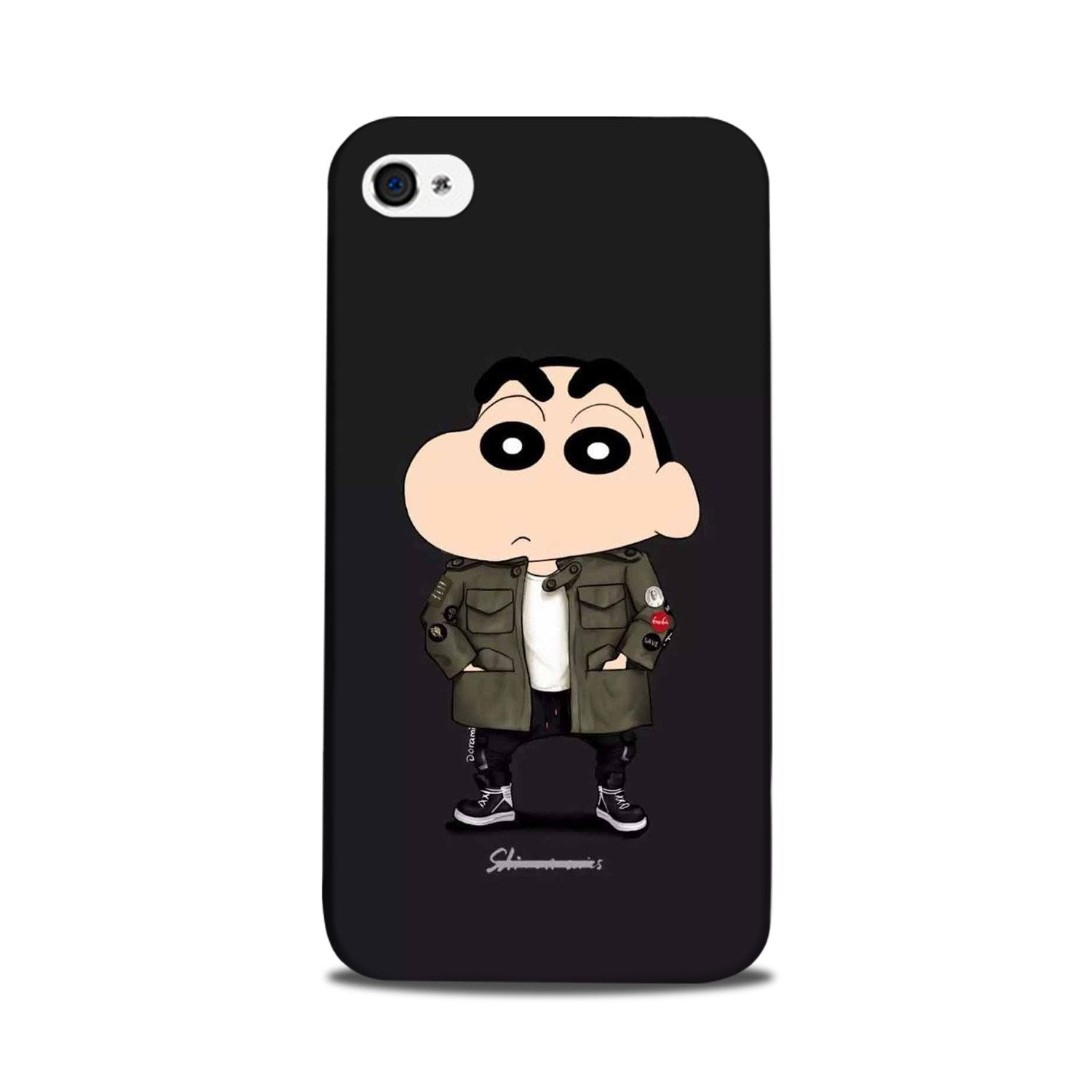 Shin Chan Mobile Back Case for iPhone 5/ 5s  (Design - 391)