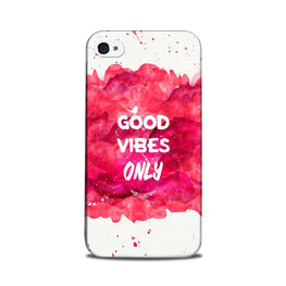 Good Vibes Only Mobile Back Case for iPhone 5/ 5s  (Design - 393)
