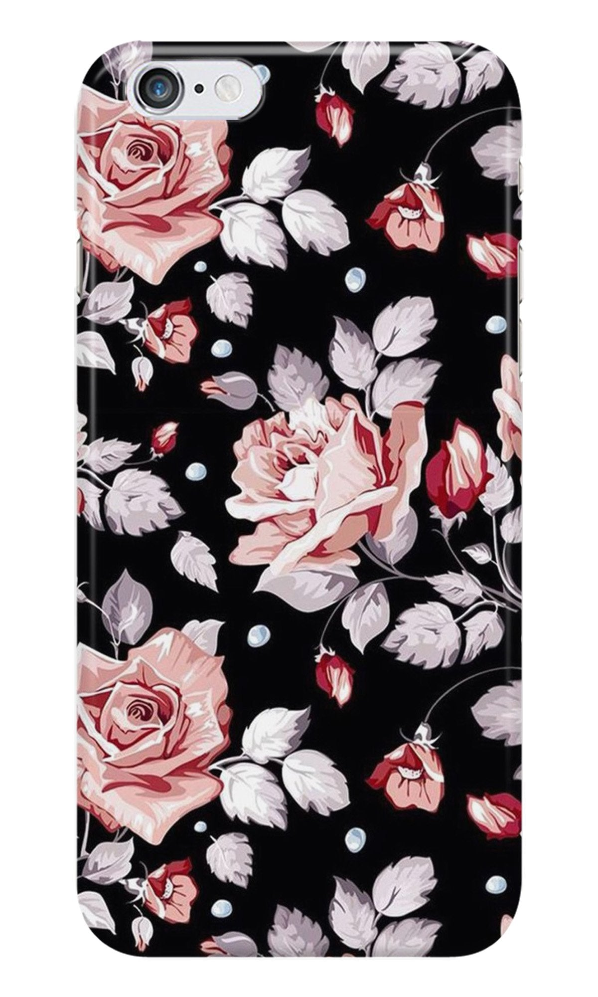 Pink rose Case for iPhone 6/ 6s