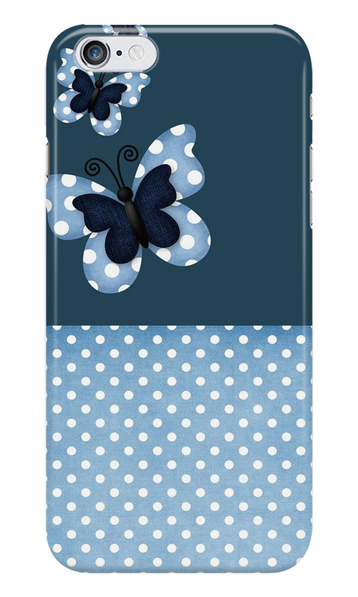 White dots Butterfly Case for iPhone 6/ 6s