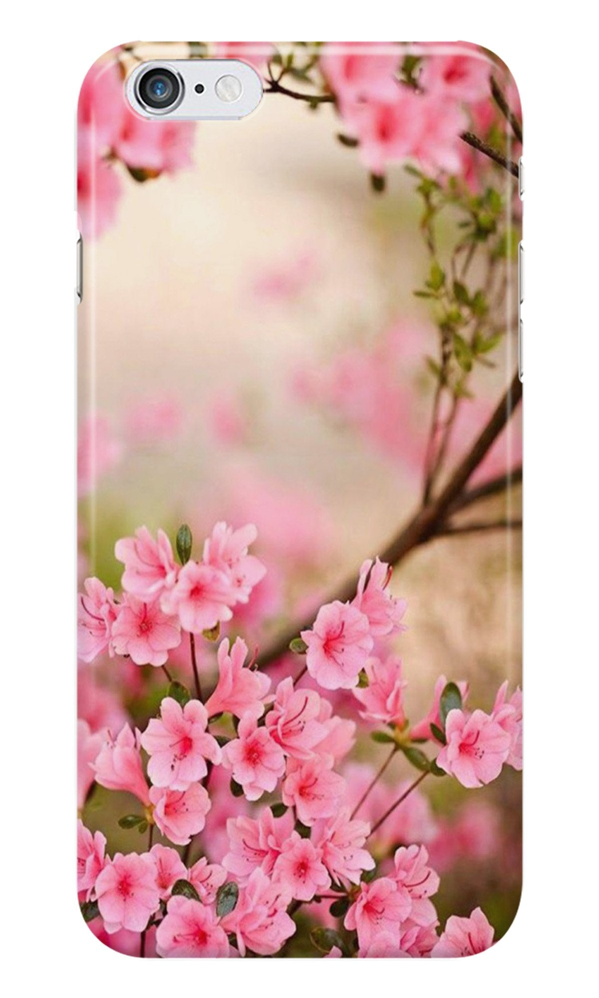 Pink flowers Case for iPhone 6/ 6s