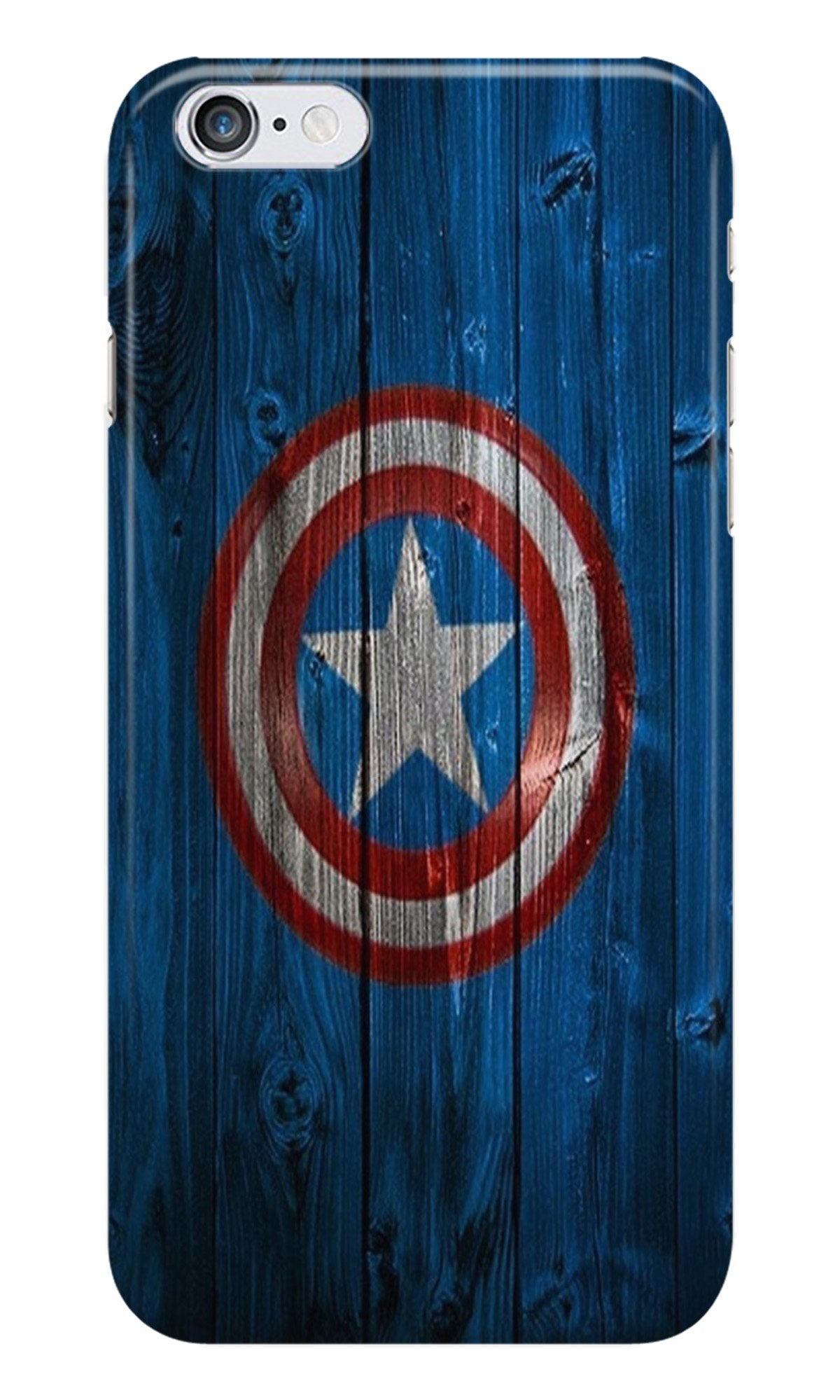 Captain America Superhero Case for iPhone 6/ 6s  (Design - 118)