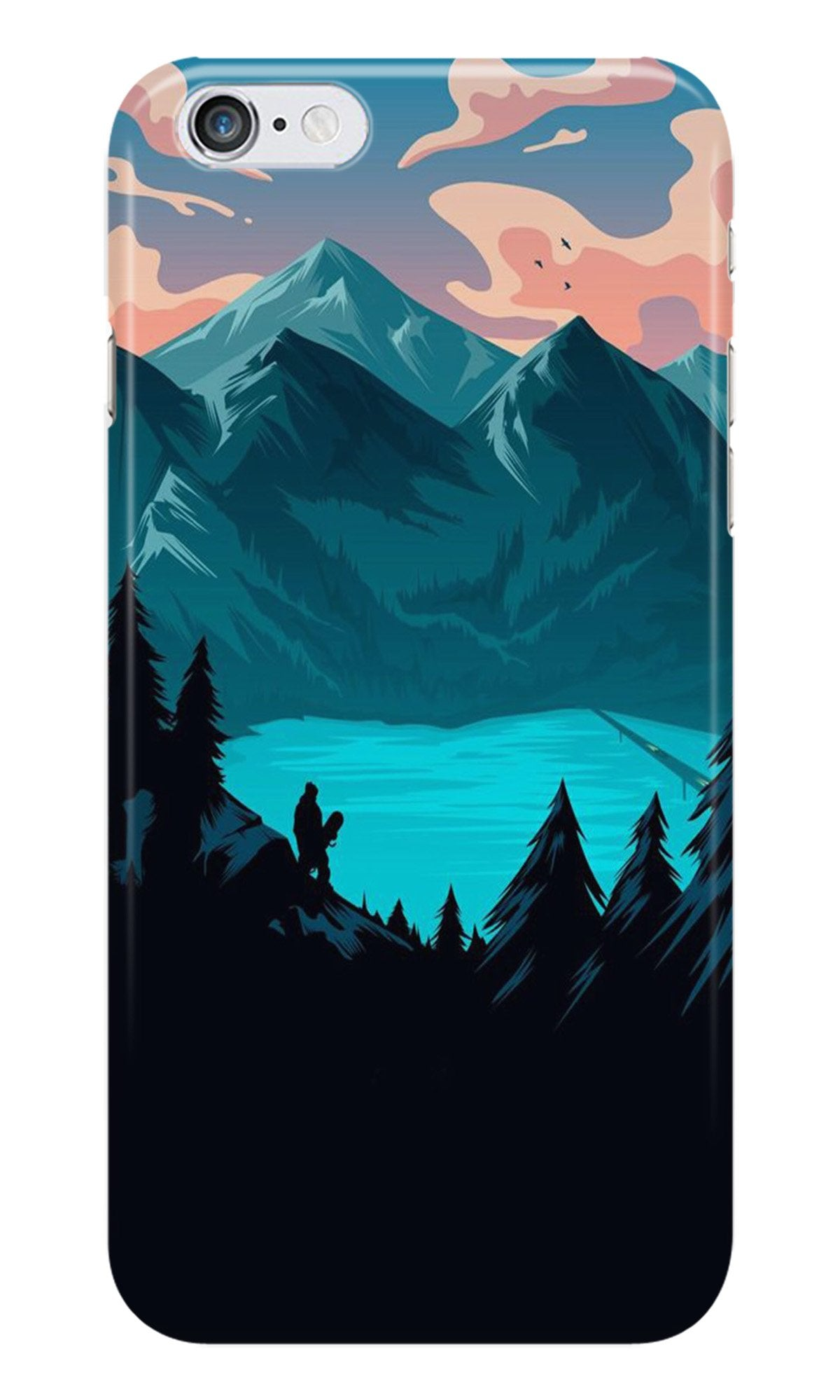 Mountains Case for iPhone 6/ 6s (Design - 186)