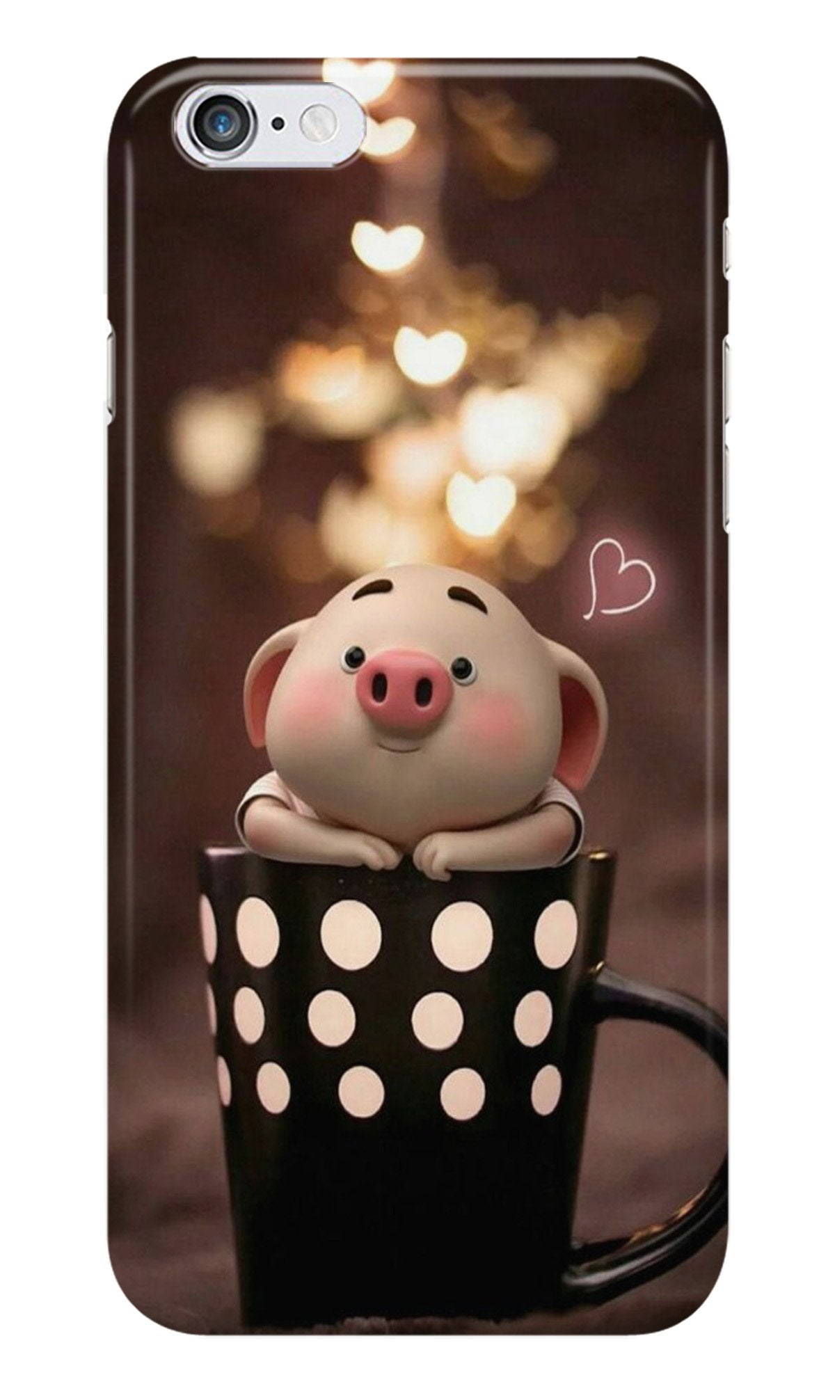 Cute Bunny Case for Iphone 6/6S (Design No. 213)