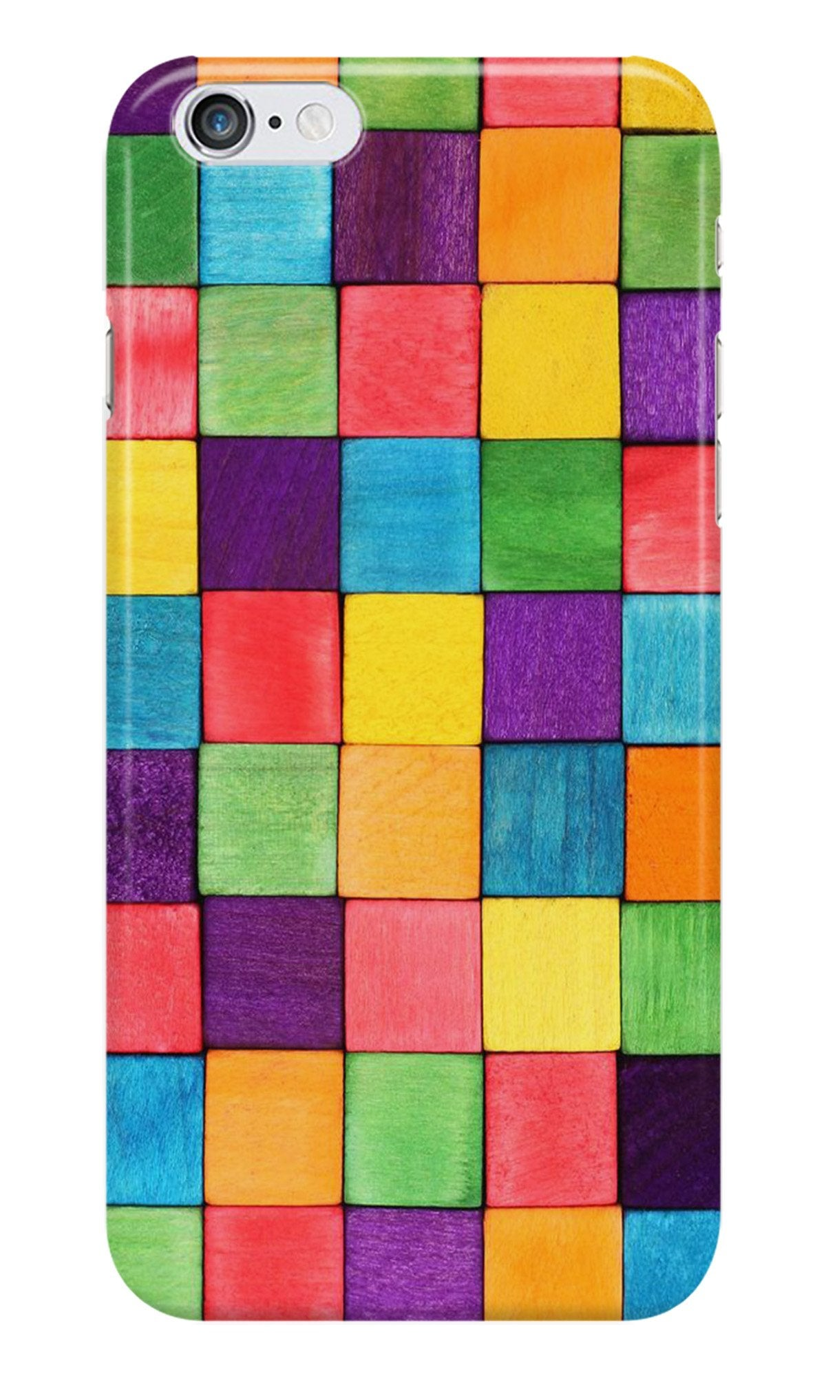 Colorful Square Case for Iphone 6/6S (Design No. 218)