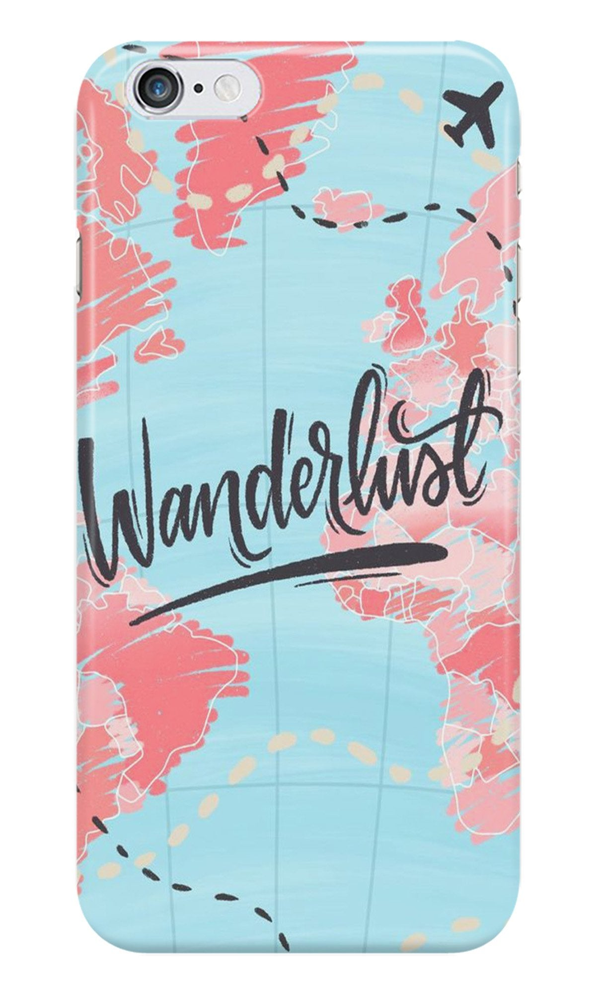 Wonderlust Travel Case for Iphone 6/6S (Design No. 223)