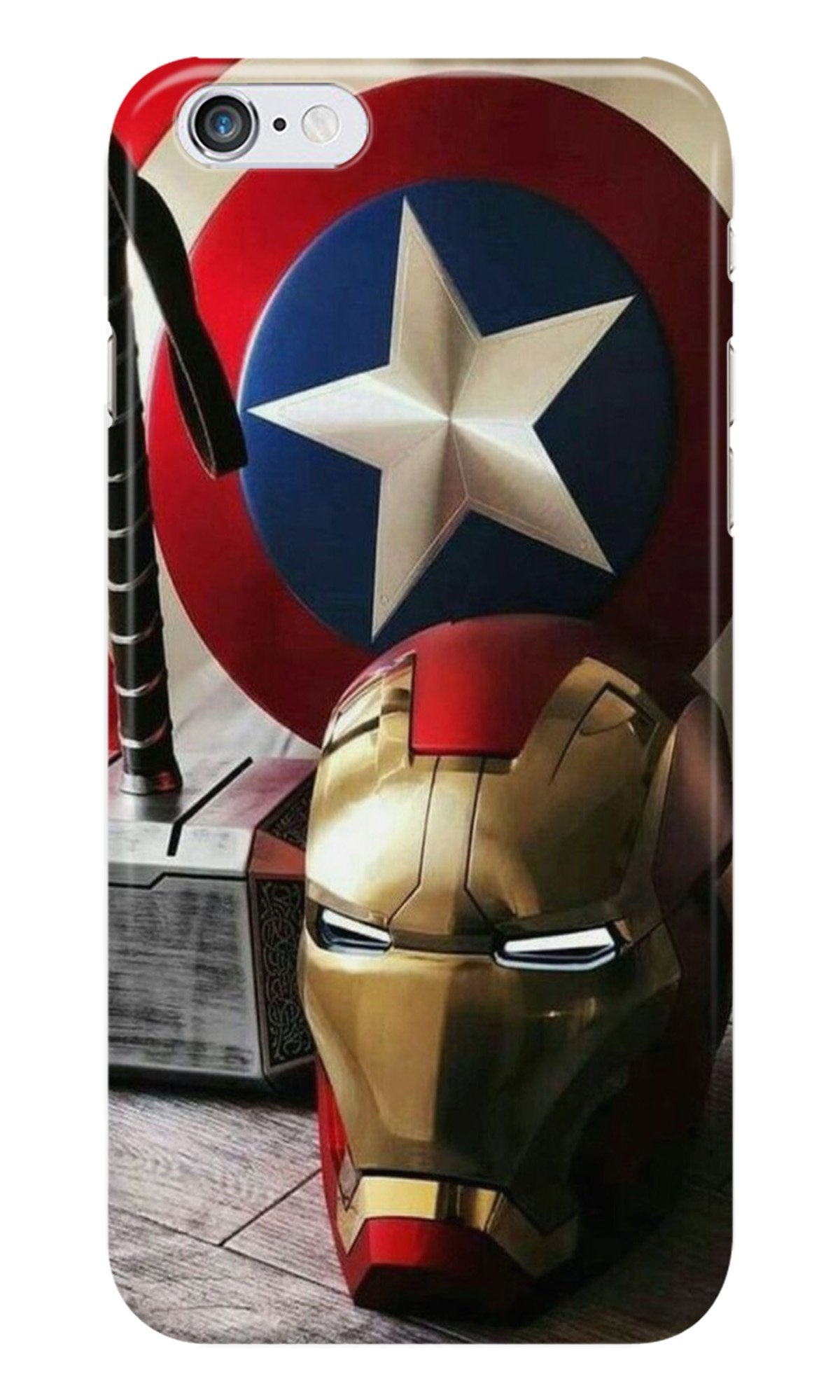 Ironman Captain America Case for Iphone 6/6S (Design No. 254)