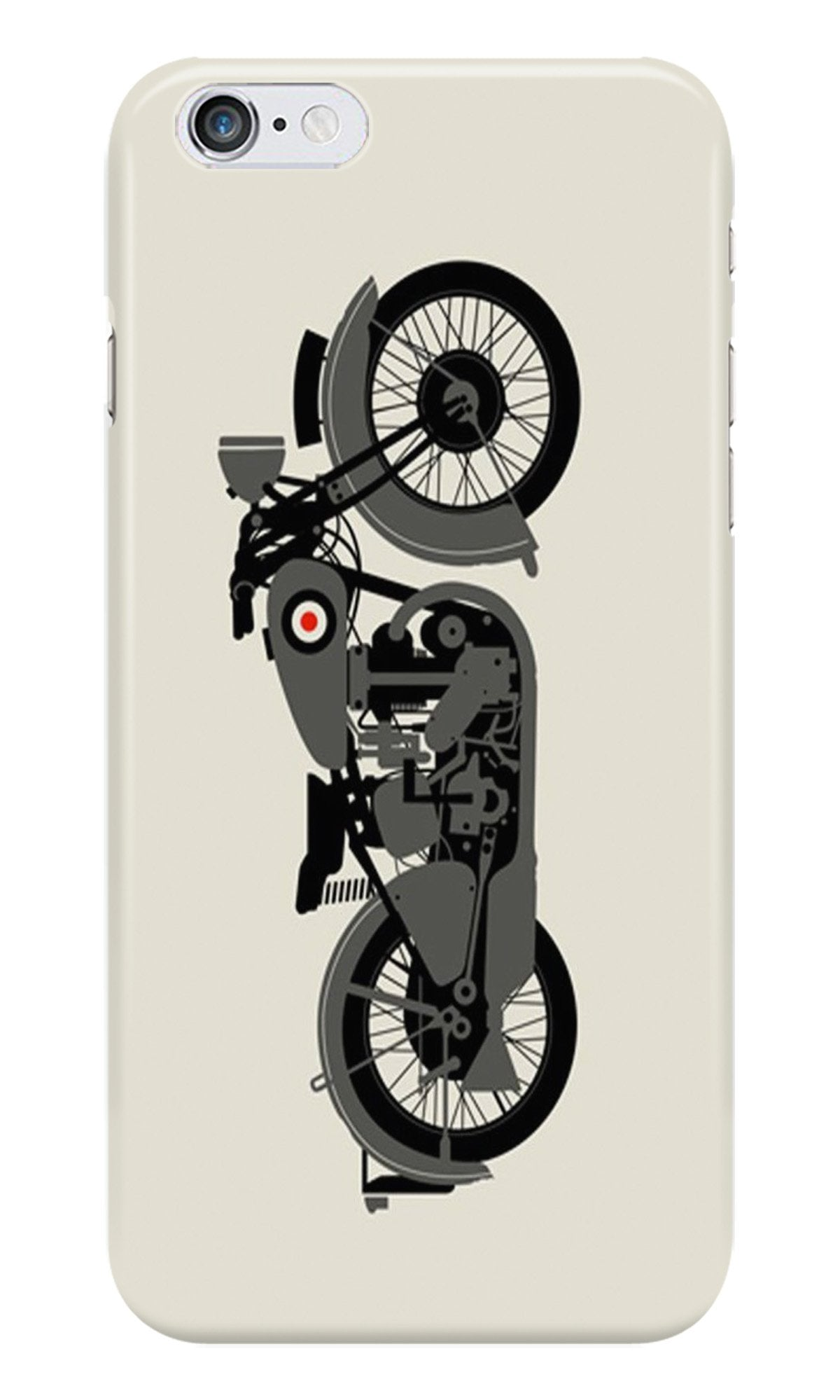 MotorCycle Case for Iphone 6/6S (Design No. 259)