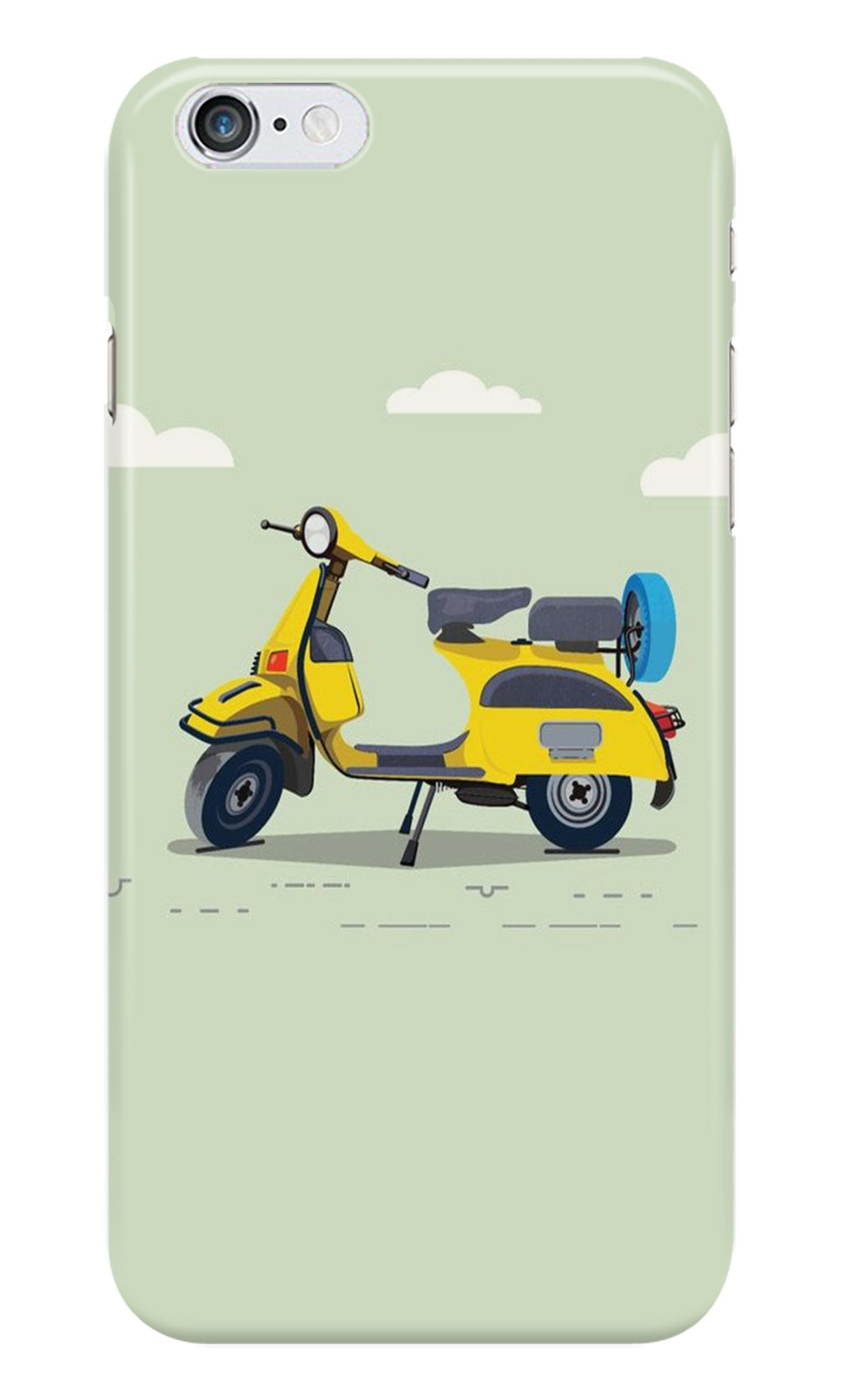Vintage Scooter Case for Iphone 6/6S (Design No. 260)