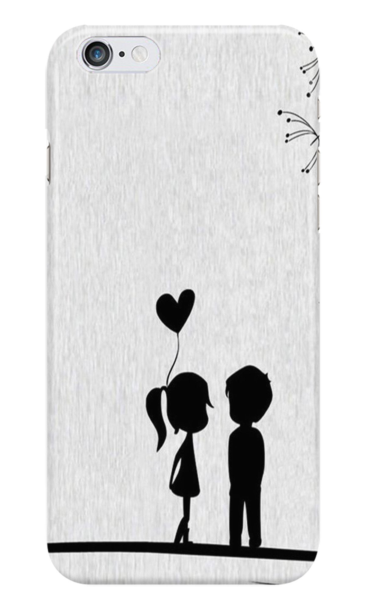 Cute Kid Couple Case for Iphone 6/6S (Design No. 283)