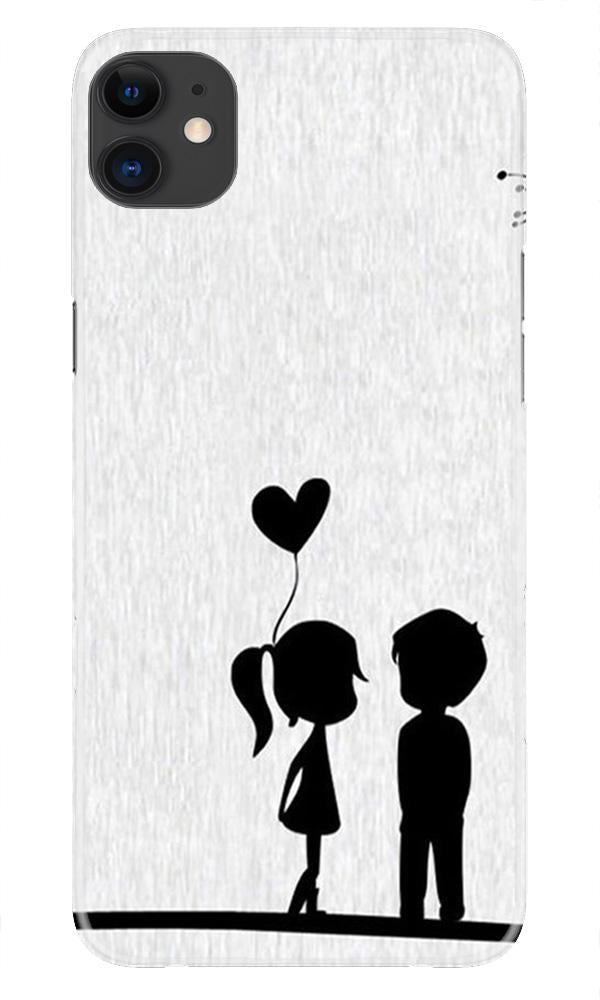 Cute Kid Couple Case for iPhone 11 Pro Max logo cut (Design No. 283)