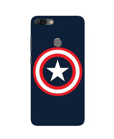 Captain America Case for Infinix Hot 6 Pro