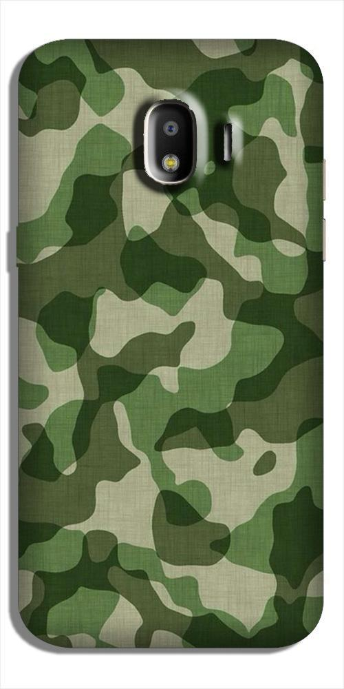 Army Camouflage Case for Galaxy J2 (2018)  (Design - 106)