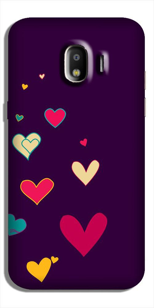 Purple Background Case for Galaxy J2 (2018)  (Design - 107)