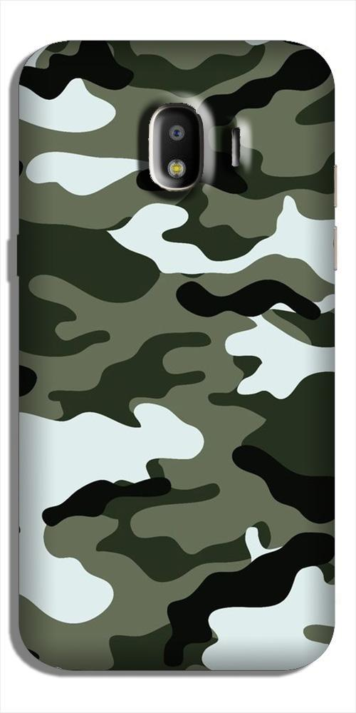 Army Camouflage Case for Galaxy J2 (2018)  (Design - 108)